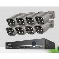 5MP POE Nadzorni sistem 8 kamer + snemalnik