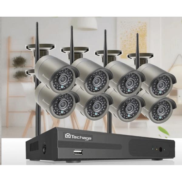 2MP WIFI Nadzorni sistem 8 kamer + snemalnik 3TB