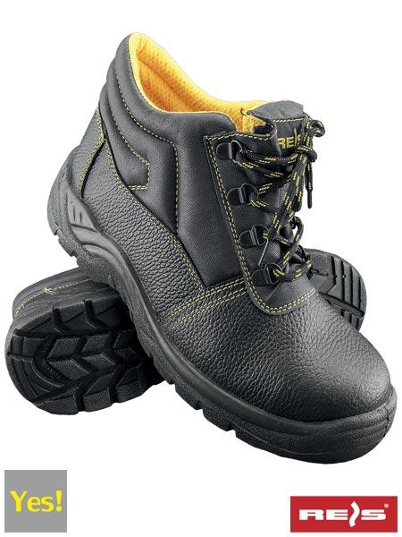 Delavski čevlji s kapico REIS