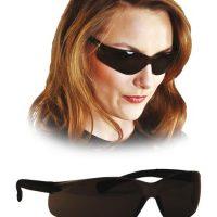 Zatemnjena zaščitna očala